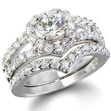 diamond wedding ring sets for ring diamond wedding satisfaction laurel s heart shape faux diamond