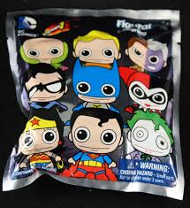 blind bags toys dc comics figural foam key chain blindboxes