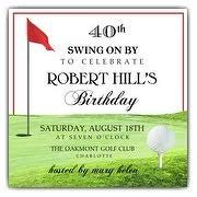 40th birthday invitations paperstyle