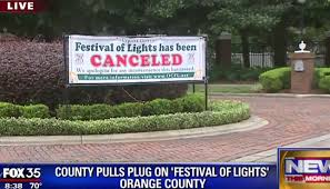 festival of lights orange county popular festival of lights canceled orlando sentinel