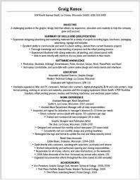 What Should Be In The Summary Of A Resume What Should Be The Resume For Electronics And Communication