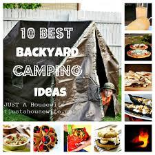 backyard campout backyard camping backyard and camping