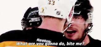 Pittsburgh Penguins Memes - my gifs pittsburgh penguins boston bruins zdeno chara im sorry