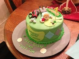 8 best golf images on pinterest golf cakes golf birthday cakes