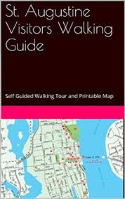 ft cbell map amazon com st augustine visitors walking guide self guided