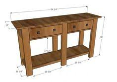 diy entryway table plans entry table entry tables table plans and diy furniture