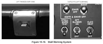 aircraft systems how does one test a stall warning during pre