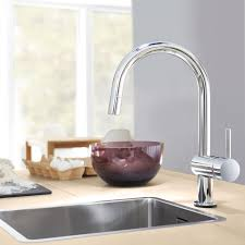 grohe faucet kitchen grohe 31359dc0 minta touch activated electronic single handle