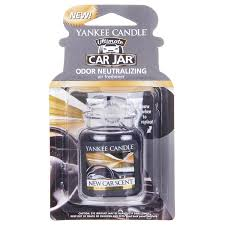 air freshener new car smell yankee candle new car scent car jar ultimate temptation gifts