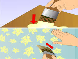 how to paint walls with stencils with pictures wikihow