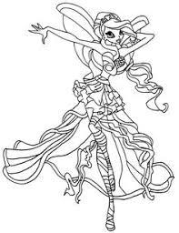winx club coloring tags winx club colouring easy sharks
