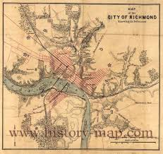 Map Of Richmond Va Map