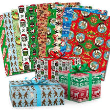 wrapping paper sheets awesome christmas wrapping paper book archie mcphee co
