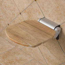 Teak Folding Shower Bench Teak Shower Seat Home U0026 Garden Ebay