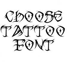 tribal fonts for tattoos font generator