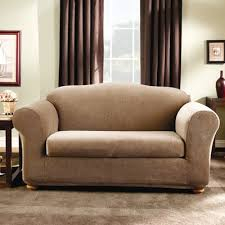 Two Piece Sofa by Sure Fit Stretch Stripe Two Piece Sofa Slipcover Sofa Seat