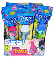 where to buy pez candy trolls pez dispensers pack of 12 grocery