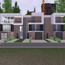 Sims 3 Awning Modern Apartment Complex By Stevesuzz The Exchange Community