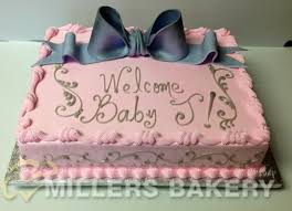baby shower miller u0027s bakery custom cakes for any occasion