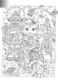 coloring pages adults space coloring