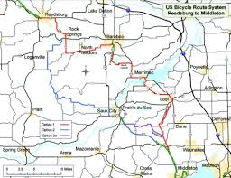 Wisconsin Illinois Map by National Bike Route Could Come Through Baraboo Regional News