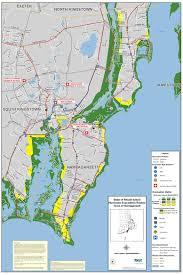 Map Of Ri Evacuation Map Narragansett Ri Official Website