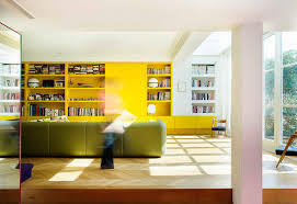 Modern Furniture London by Colored Walls And Flashy Furniture For A Brighter House Elle