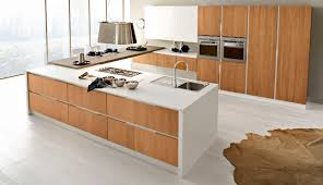 arrex cuisine contemporary kitchen walnut island topazio arrex