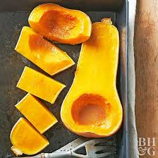 squash with maple and bourbon