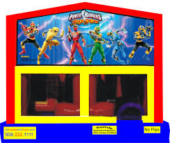 power rangers power bounce house moonwalk children u0027s party theme