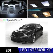 2015 Chrysler 200 Interior Amazon Com Ledpartsnow 2015 Chrysler 200 Led Interior Lights
