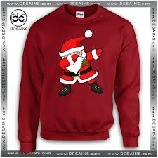 ugly sweatshirt dabbing santa claus christmas review