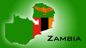 Zambia Map The Map Of Zambia And The National Colors And Symbol Of Its Flag