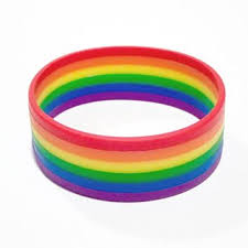 bracelet rubber images Best rainbow rubber bracelets products on wanelo jpg