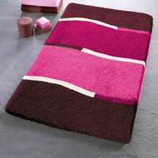 Hot Pink Bath Rugs Roselawnlutheran - Designer bathroom rugs and mats
