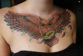 badass chest tattoos order get better idea what 5370891 top