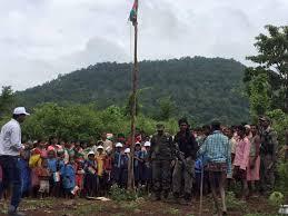 Indian National Flag Hoisting Chhattisgarh Police Enforce Flag Hoisting In Naxalite Dominated