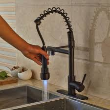 compare prices on oil rubbed bronze kitchen faucet online