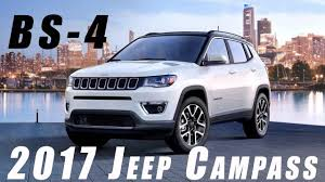 suv jeep 2017 2017 jeep compass unveiled in india price feature and