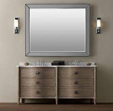 Restoration Hardware Bathroom Cabinet by Fairhaven Double Vanity Bathroom Vanities Bath