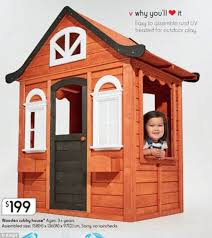 thrifty mum transforms her daughter u0027s kmart cubby house daily