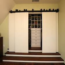 Bypass Closet Door Hardware Barn Closet Doors Home Design And Pictures