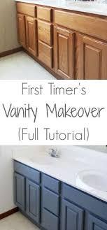 bathroom vanity makeover ideas bathroom vanity makeover easy diy home paint project painted