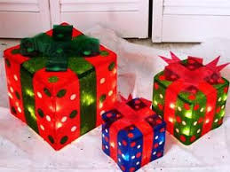 how to make a lighted box decoration