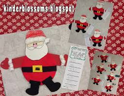 christina u0027s kinder blossoms christmas crafts for my kindergarteners