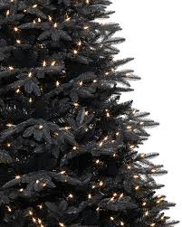midnight black christmas tree treetopia
