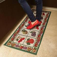 Jacquard Kitchen Rugs Buy Jacquard Duper Absorbant Rooster Kitchen Rug Runner In Cheap