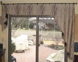Patio Door Valance Wonderful Patio Door Valance Ideas Window Treatment