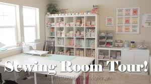 sewing room tour youtube