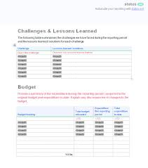 2 incredible project progress report templates free download